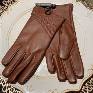 Brand New Brown Gloves!